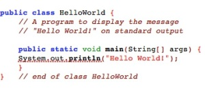 Hello World.Java